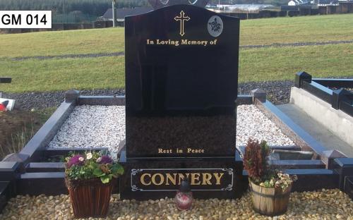 Gavins Memorials, Ballyhaunis, Co Mayo, Ireland.  O G - GM 014