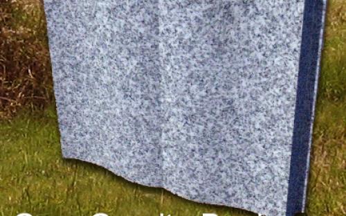 Gavins Memorials, Ballyhaunis, Co Mayo, Ireland.  Grey Granite Book - GS 208