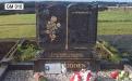 Gavins Memorials, Ballyhaunis, Co Mayo, Ireland.  Paradisia Book - GM 010
